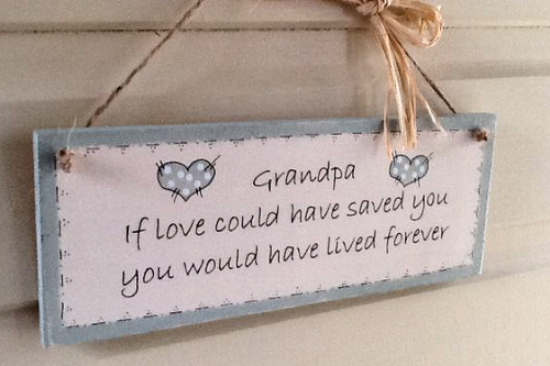 Memory Plaque For Any Loved One